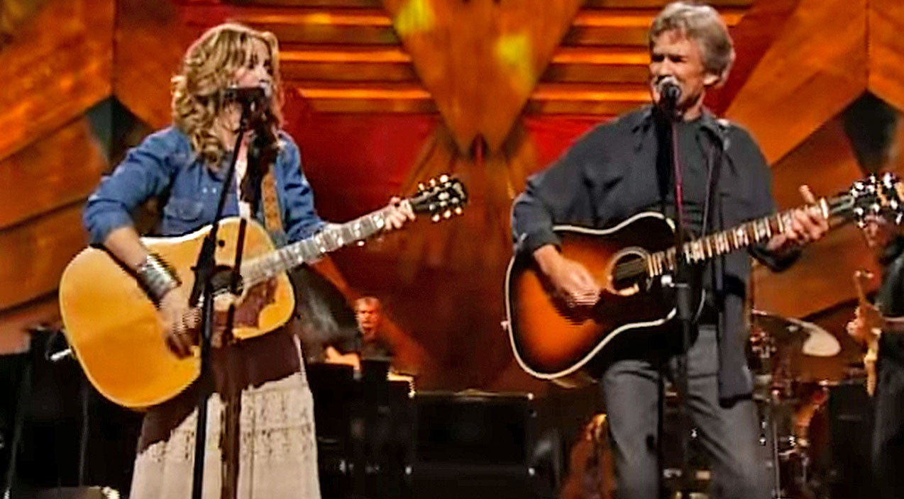 Willie nelson Songs | Sheryl Crow & Kris Kristofferson Give Killer Performance To 'Me and Bobby McGee' | Country Music Videos