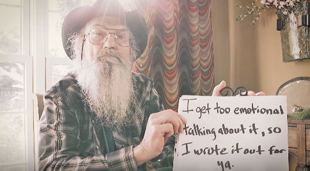 Si robertson Songs | Si Robertson Gets So Emotional He Can't Speak | Country Music Videos