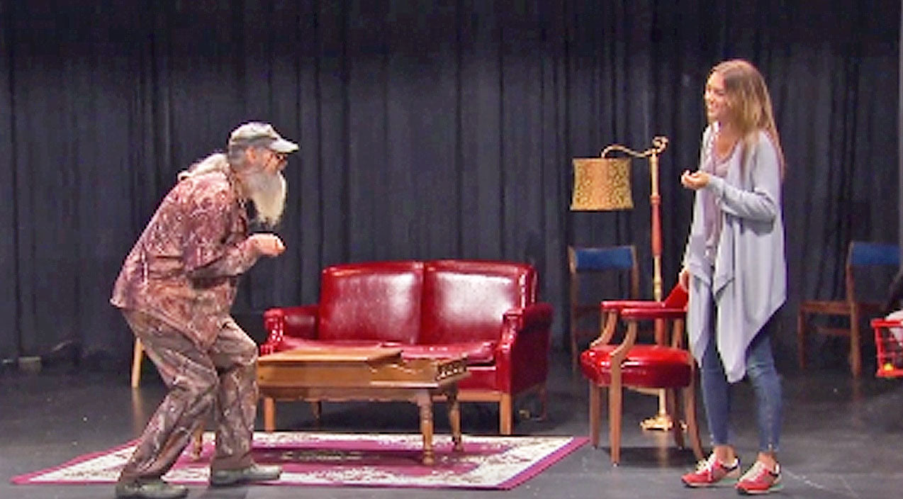 Willie robertson Songs | Sadie And Si Robertson Drag Willie To Their Acting Class. What Happens Next? HILARIOUS! | Country Music Videos