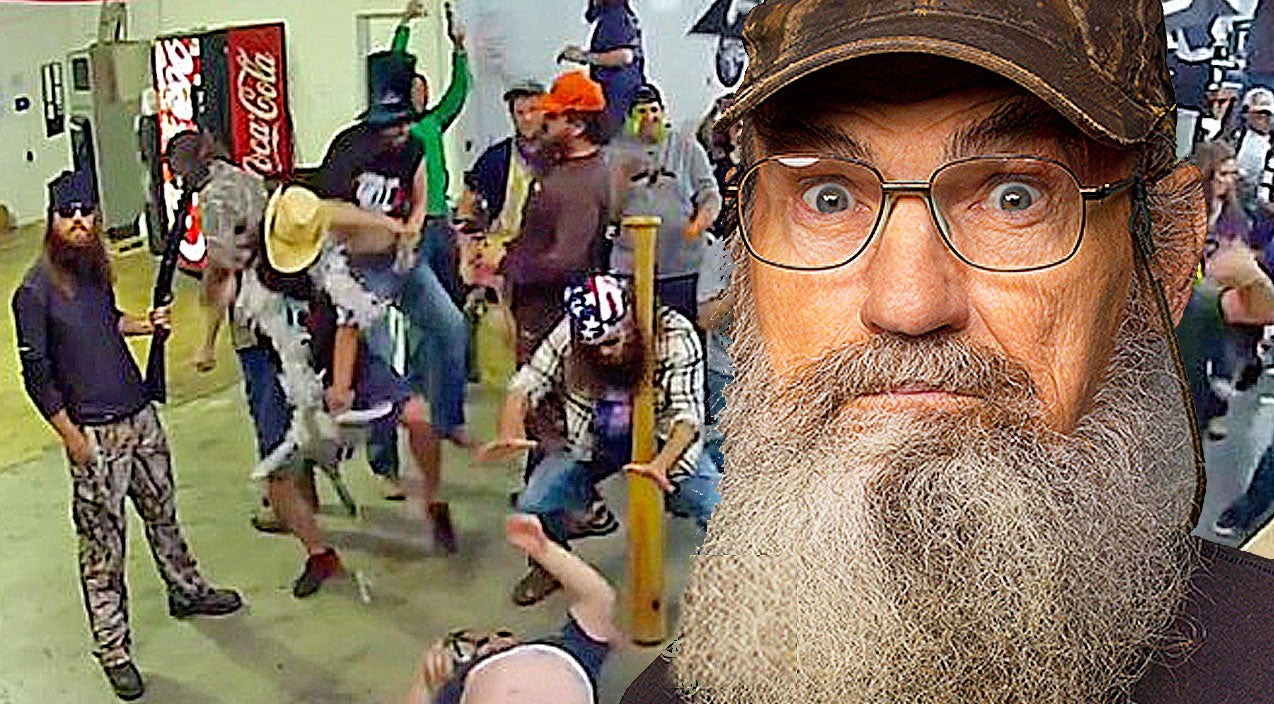 Classic country Songs | Cast Of Duck Dynasty Participates In Hilarious