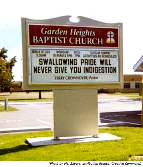 20 Hilarious Church Signs You Have to See to Believe ...