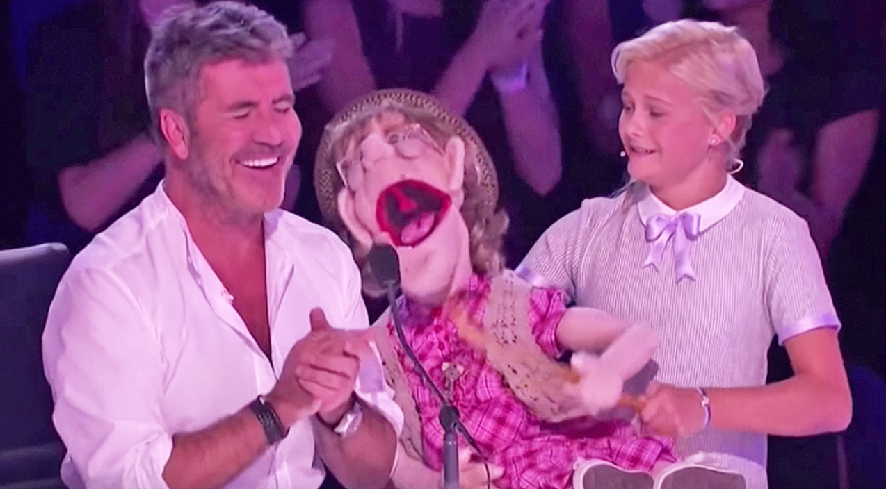 Darci lynne farmer Songs | Darci Lynne's Puppet Leaves Simon Cowell Blushing With Flirty Serenade | Country Music Videos