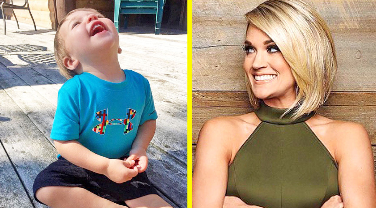 Modern country Songs | Carrie Underwood & Son Isaiah Melt Hearts Singing 'Jesus Loves Me' Together | Country Music Videos