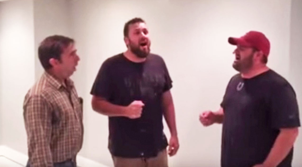 Singing Contractors Shock With Soulful Rendition Of 'How Great Thou Art' | Country Music Videos