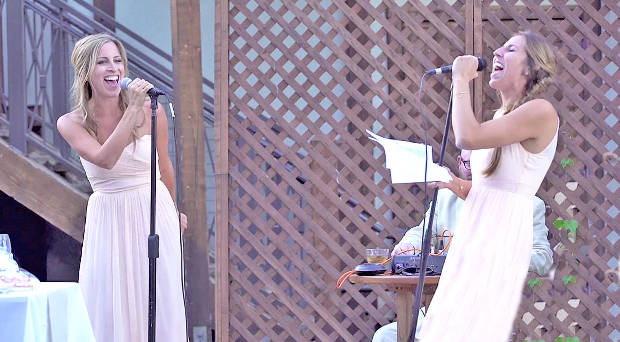 Funny Songs | Sisters Of The Bride Give The Greatest Wedding Toast Of All Time! (WATCH) | Country Music Videos