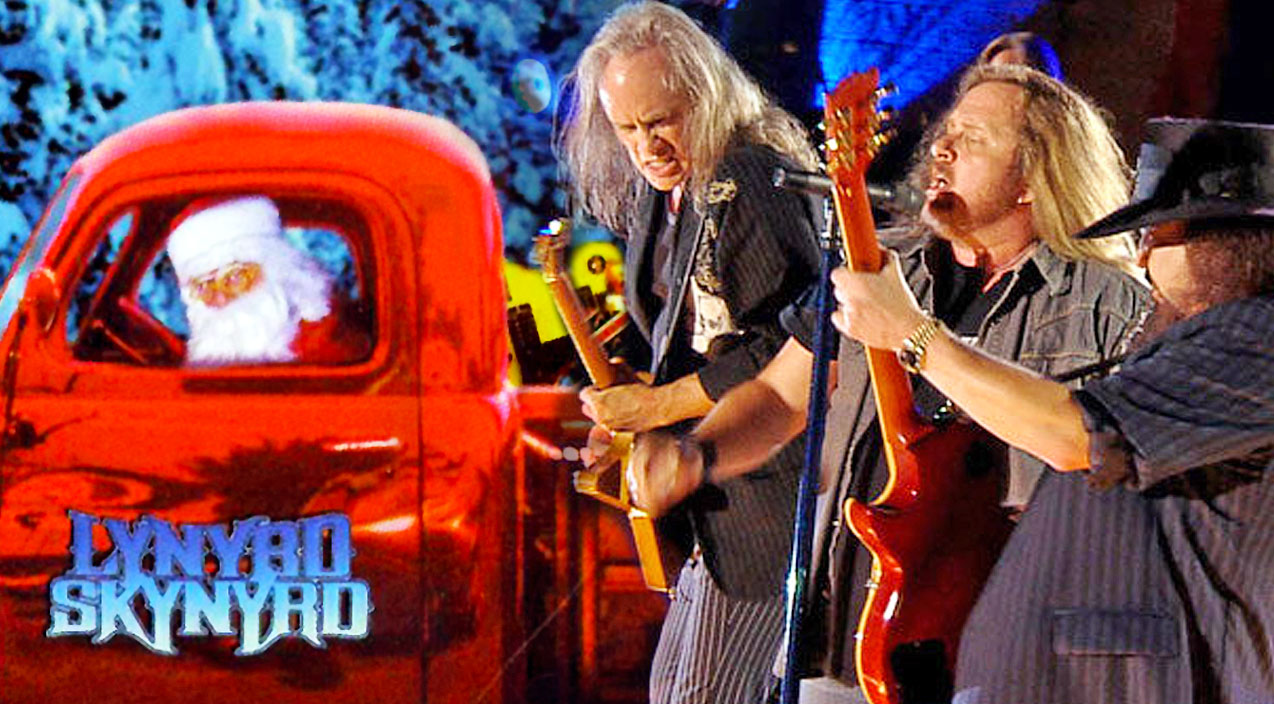 Lynyrd skynyrd Songs | Santa Claus Gets A Southern Fried Welcome In Skynyrd's Recording Of 'Santa Claus Is Comin' To Town' | Country Music Videos