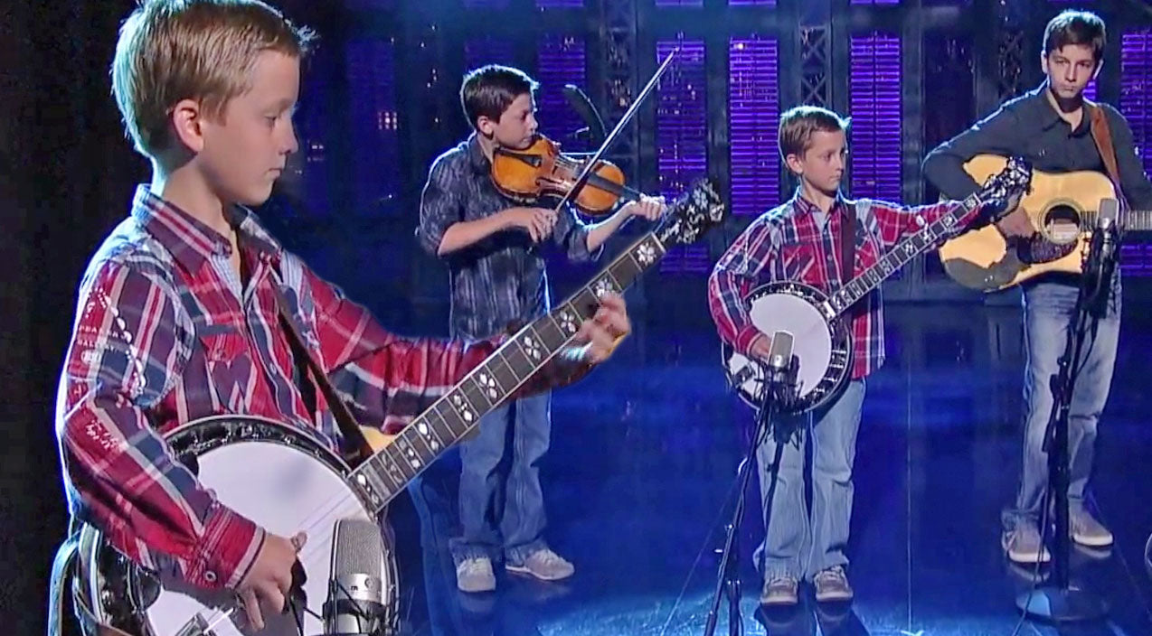 Earl scruggs Songs | 3 Young Brothers Take Over The Stage With Their Impressive Bluegrass Performance | Country Music Videos