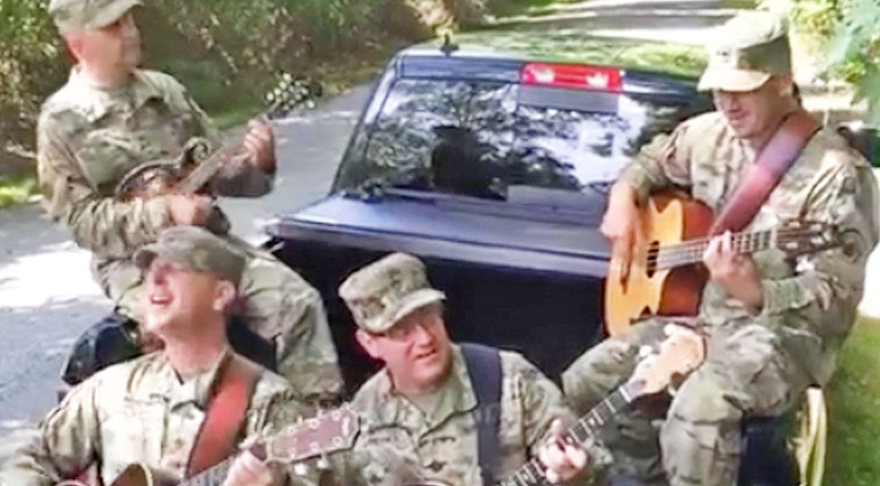 John denver Songs | These Soldiers Jamming Out To 'Country Roads' Will Melt Your Heart | Country Music Videos