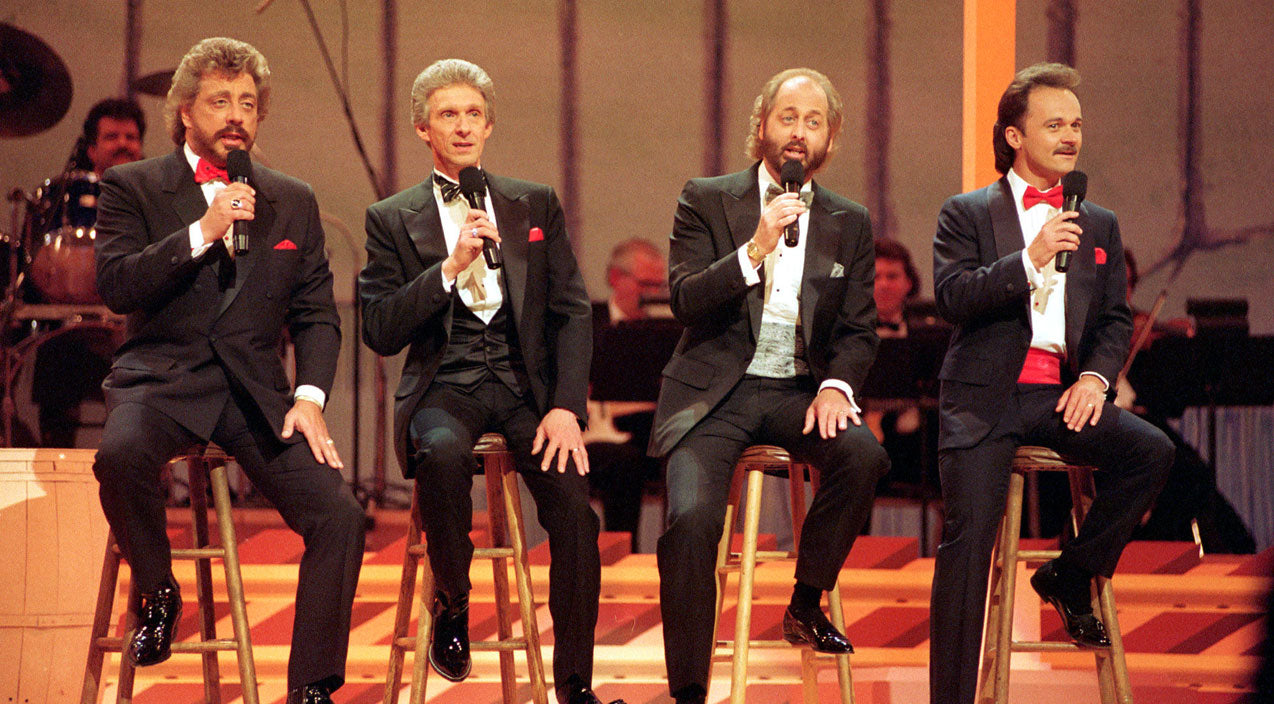 The statler brothers Songs   The Statler Brothers Steal Your Attention With Timeless 'Flowers On The Wall' Performance   Country Music Videos