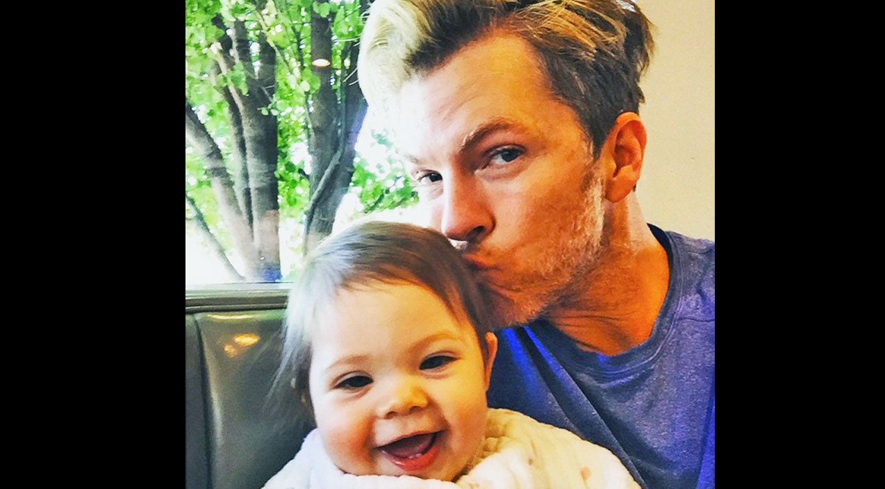 Rascal flatts Songs | Rascal Flatts' Joe Don Rooney Steals Kisses From His Baby Girl In The Most Adorable Way | Country Music Videos