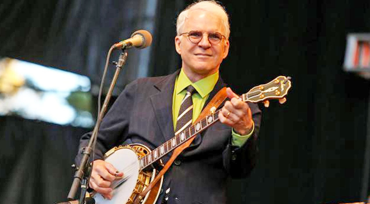 Steve martin Songs | Movie Star/Comedian, Steve Martin, To Be Honored At The International Bluegrass Music Awards | Country Music Videos