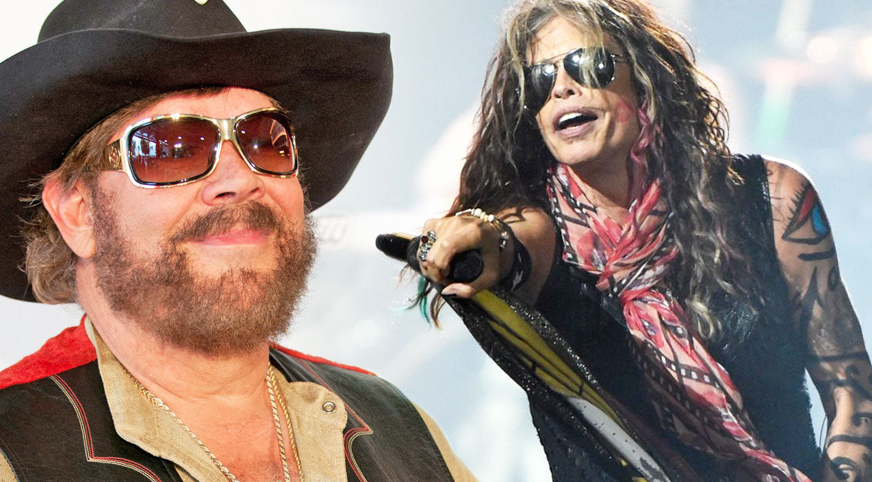Steven tyler Songs | Steven Tyler Honors Hank Williams Jr. By Performing An Energetic Rendition Of 'All My Rowdy Friends Are Coming Over Tonight' | Country Music Videos