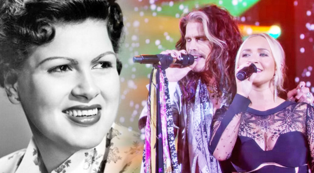 Steven tyler Songs | Steven Tyler & Hayden Panettiere Pay Tribute To Patsy Cline With Duet Of 'Crazy' | Country Music Videos