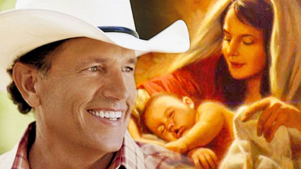 George strait Songs | George Strait - For Christ's Sake, It's Christmas | Country Music Videos