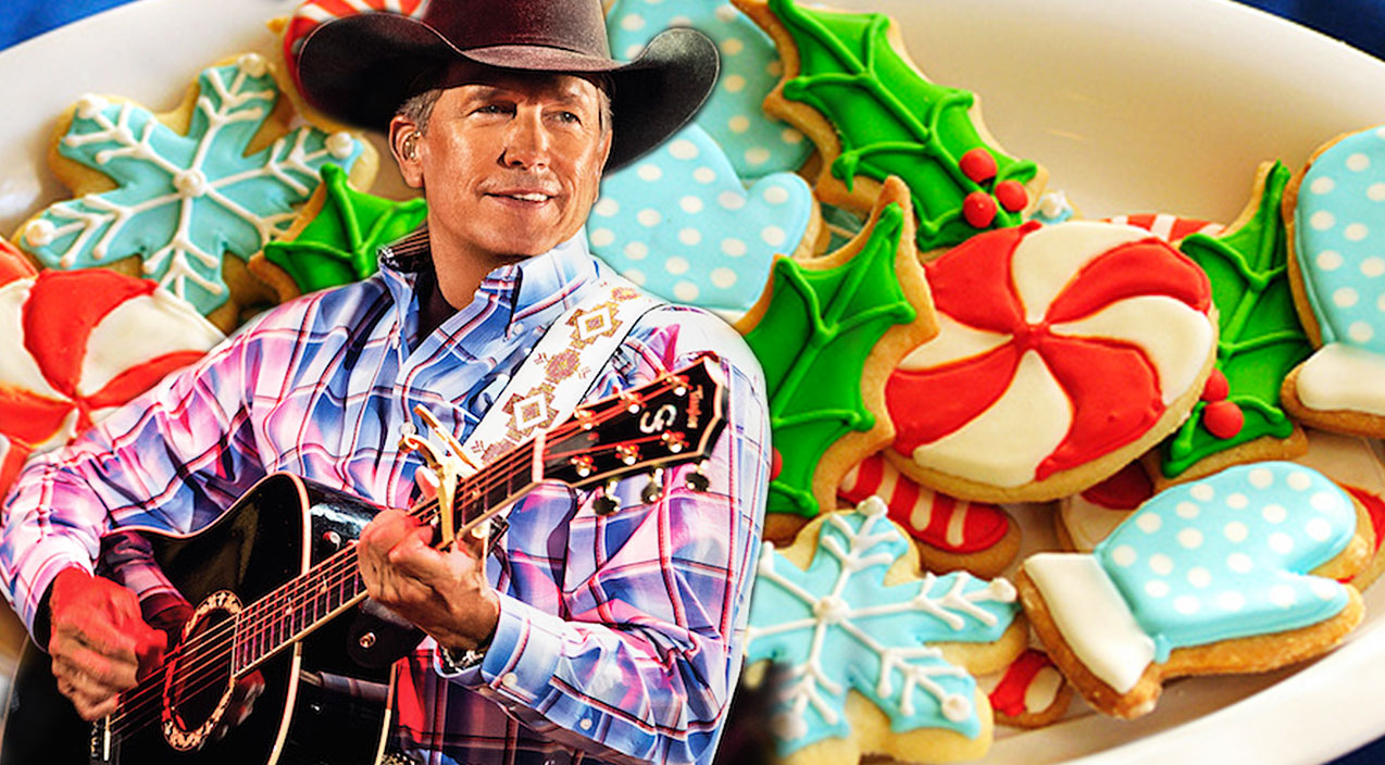 George strait Songs | George Strait Can't Wait For Your 'Christmas Cookies' In This Holiday Favorite | Country Music Videos