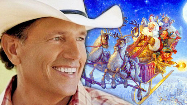George strait Songs | George Strait - Santa's On His Way | Country Music Videos