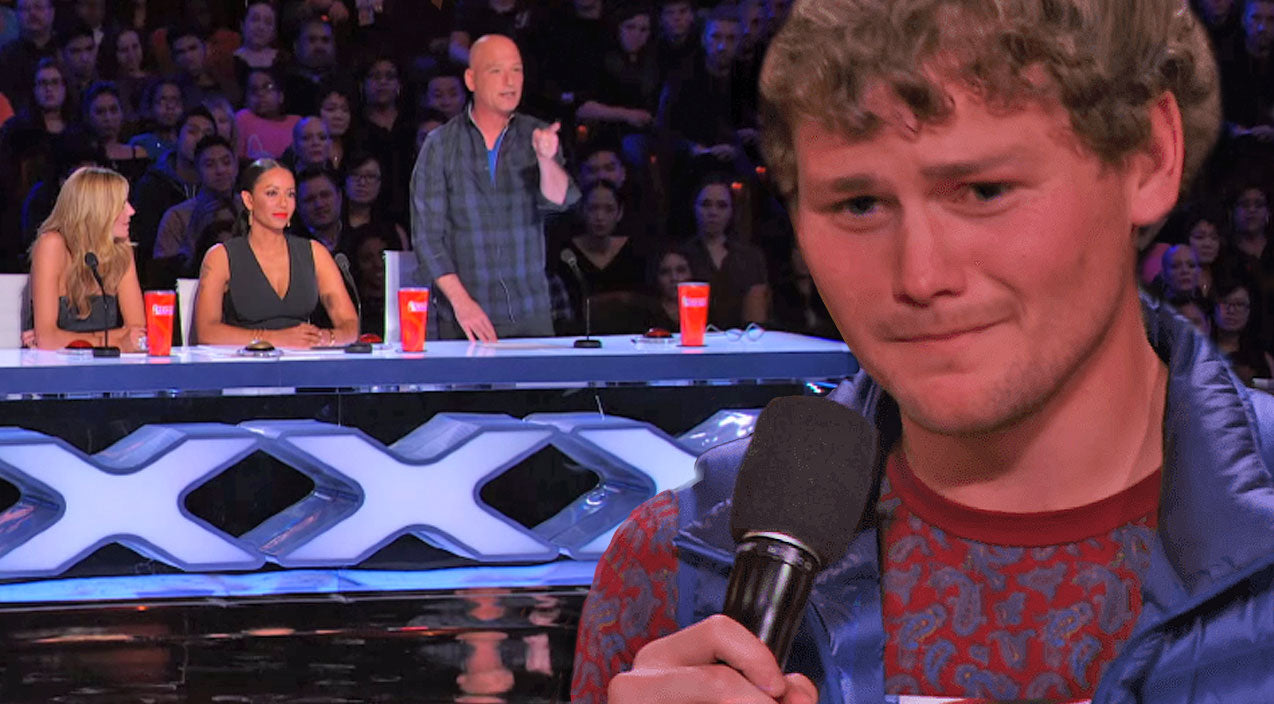 Stuttering Comedian Goes On America's Got Talent, And You Won't Believe What One Judge Does! (WATCH)   Country Music Videos