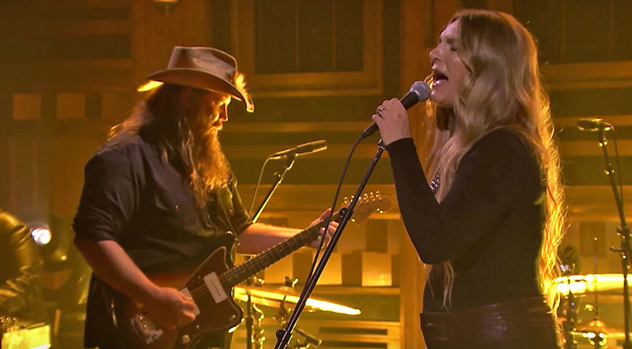 Modern country Songs | Chris Stapleton & Wife Give Chilling Twist To 'You Are My Sunshine' | Country Music Videos