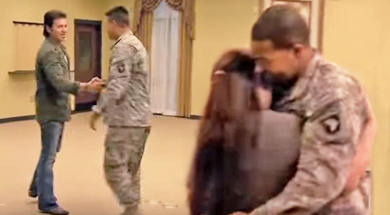 Billy ray cyrus Songs | Remember When Billy Ray Cyrus Made Us All Cry With This Emotional Surprise Military Homecoming? | Country Music Videos