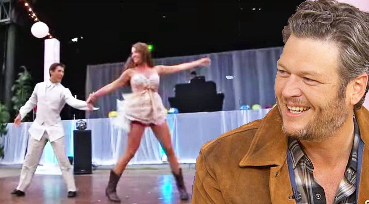 Blake shelton Songs | Insane Wedding Dance To Blake Shelton's 'Footloose' Takes The Cake | Country Music Videos