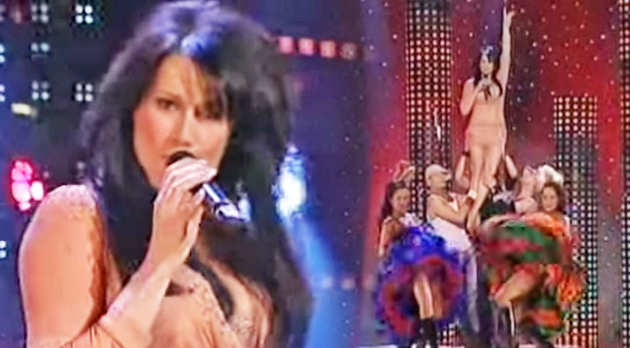 Jill johnson Songs | Swedish Country Singer Struts Her Stuff In Sexy 'Redneck Woman' Performance | Country Music Videos