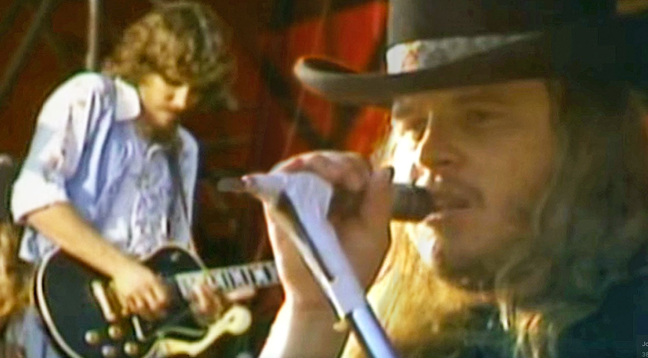 Lynyrd skynyrd Songs | You Won't Be Able To Take Your Eyes Off Of Skynyrd's Sweltering Performance Of 'T For Texas' | Country Music Videos