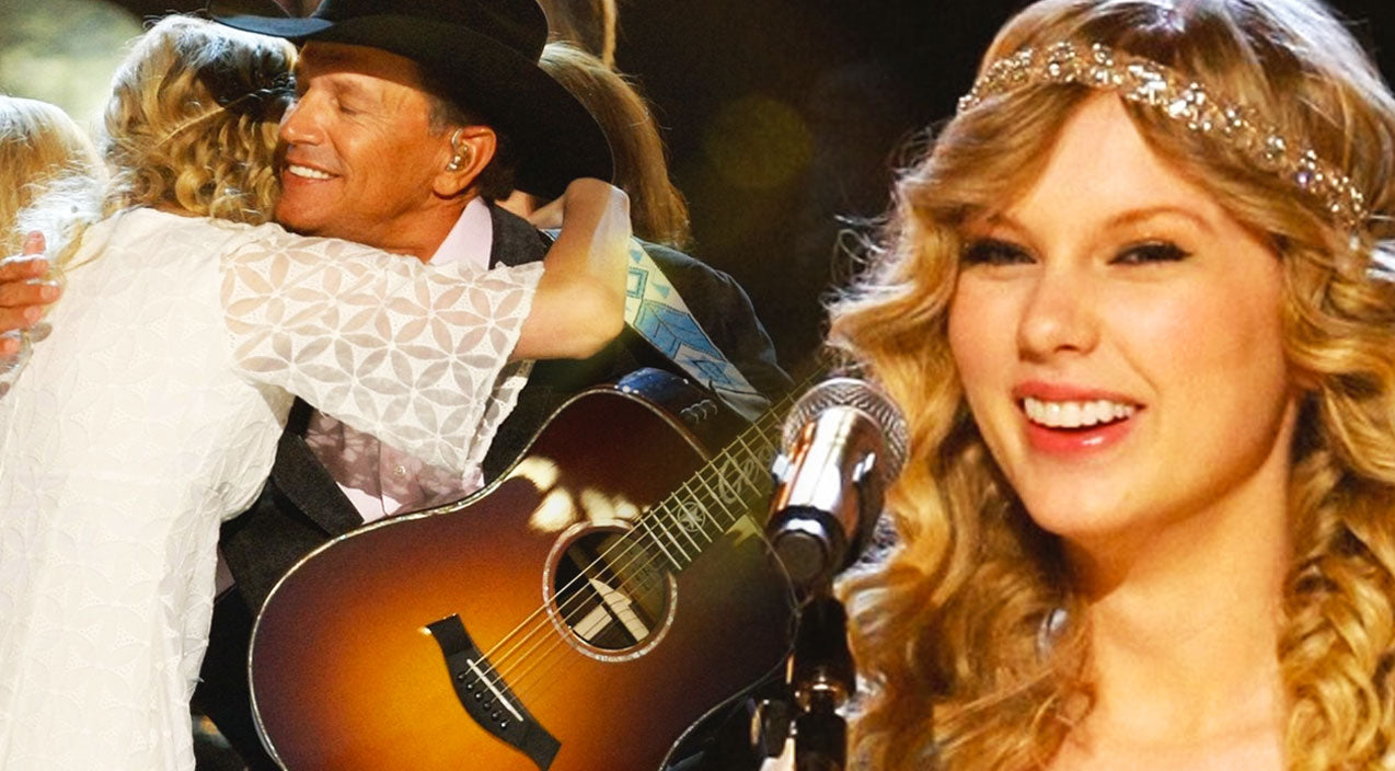 Taylor swift Songs | Taylor Swift Makes History Singing George Strait's 'Run' | Country Music Videos