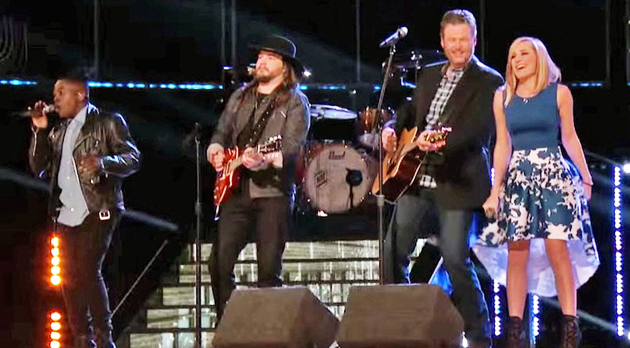 The voice Songs | Blake Shelton Joins His 'Voice' Team For Sunny Rendition Of 80's Country Megahit | Country Music Videos