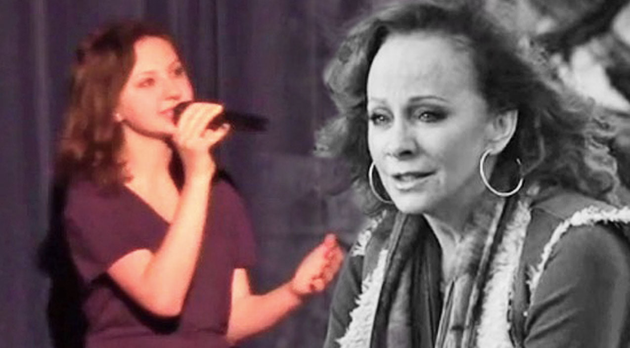 Reba mcentire Songs | Teenager Sings Reba's 'Just Like Them Horses' In Honor Of Grandfather Who Passed Away | Country Music Videos