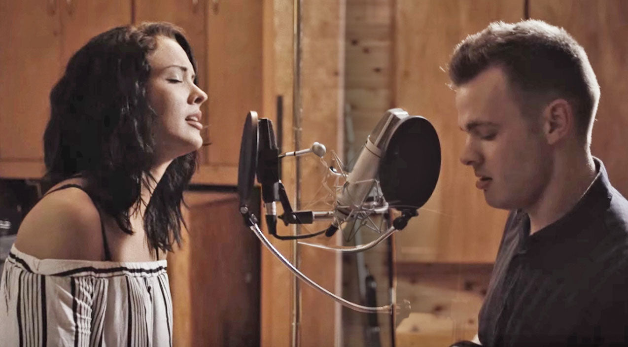 Justin timberlake Songs | Young Couple Stuns With Unreal 'Tennessee Whiskey' Duet | Country Music Videos