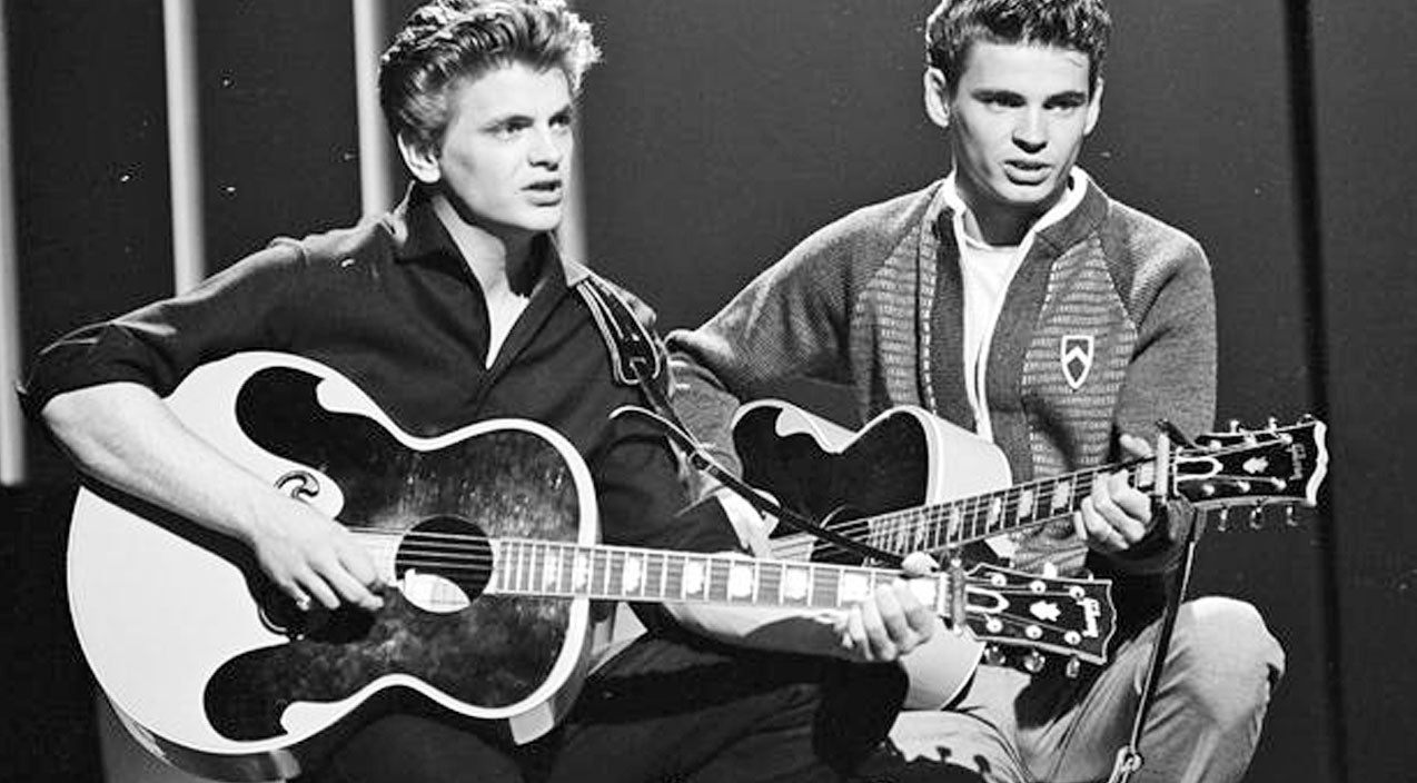 The everly brothers Songs | The Everly Brothers Dazzle With Signature Songs In Vintage Performance | Country Music Videos