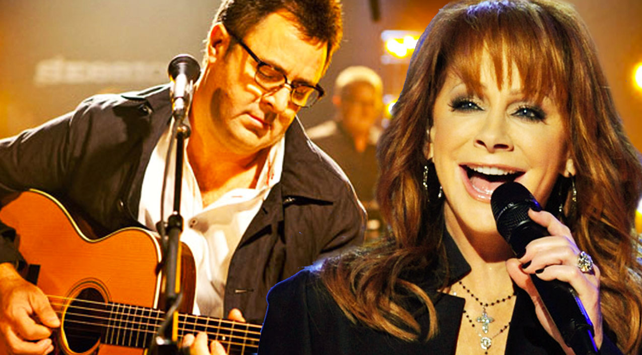Vince gill Songs | Reba McEntire and Vince Gill Beautifully Sing
