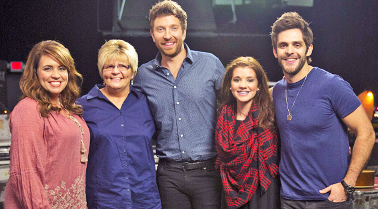Thomas rhett Songs | Thomas Rhett & Brett Eldredge Make Cancer Survivor's Christmas Dream Come True | Country Music Videos