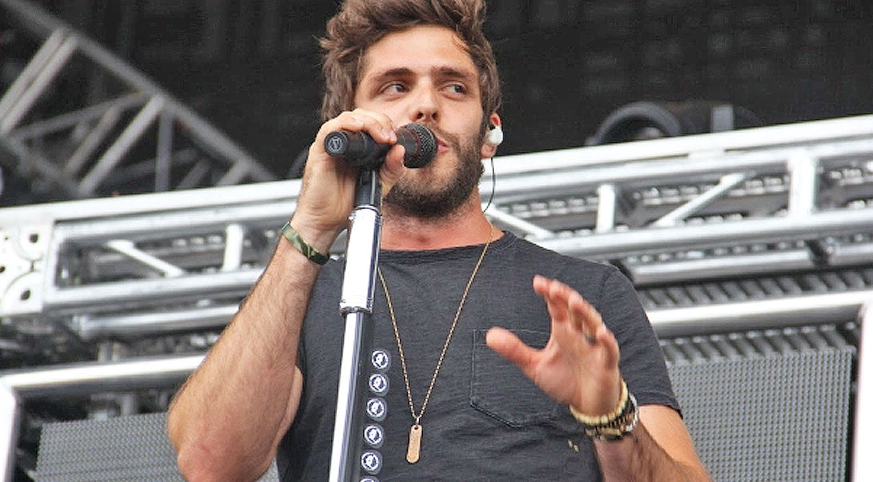 Thomas rhett Songs | Thomas Rhett Gives Chart-Topping Pop Song A Country Makeover | Country Music Videos