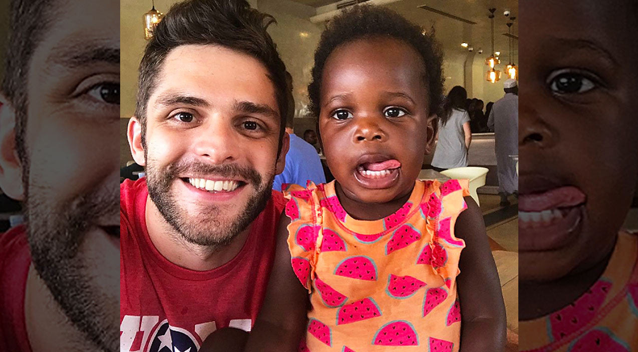 Thomas rhett Songs | Thomas Rhett's Adorable Photoshoot With Daughter Willa Will Have You Melting | Country Music Videos