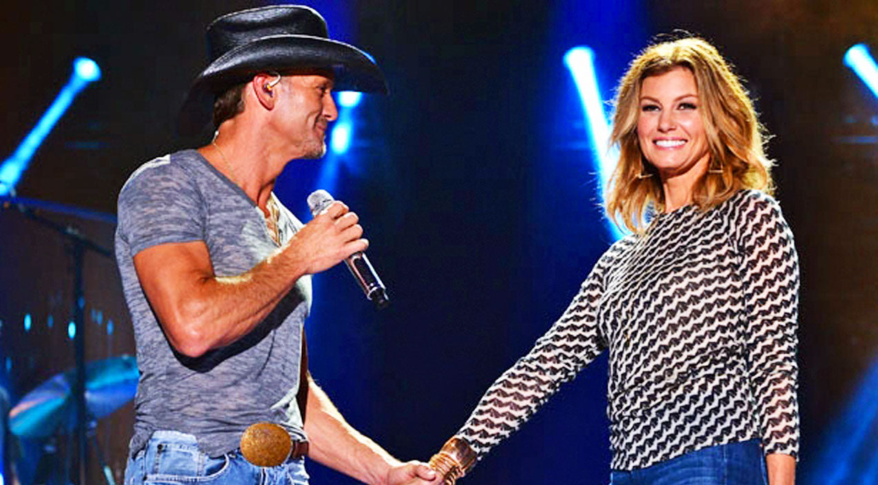 Tim mcgraw Songs   Tim McGraw Highlights His Forever Love To Faith With Romantic Selfie   Country Music Videos