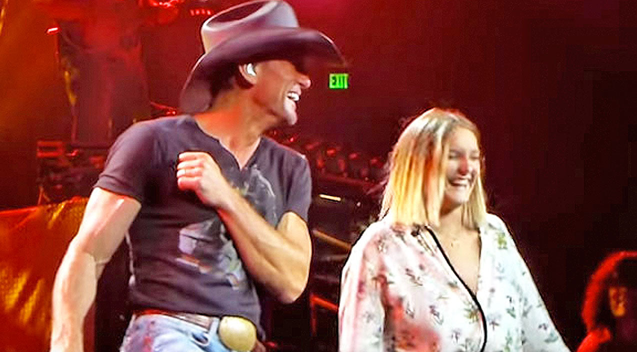 Tim mcgraw Songs | Tim McGraw Proves He Is A 'Cool Dad' With Adorable Father-Daughter Selfie | Country Music Videos