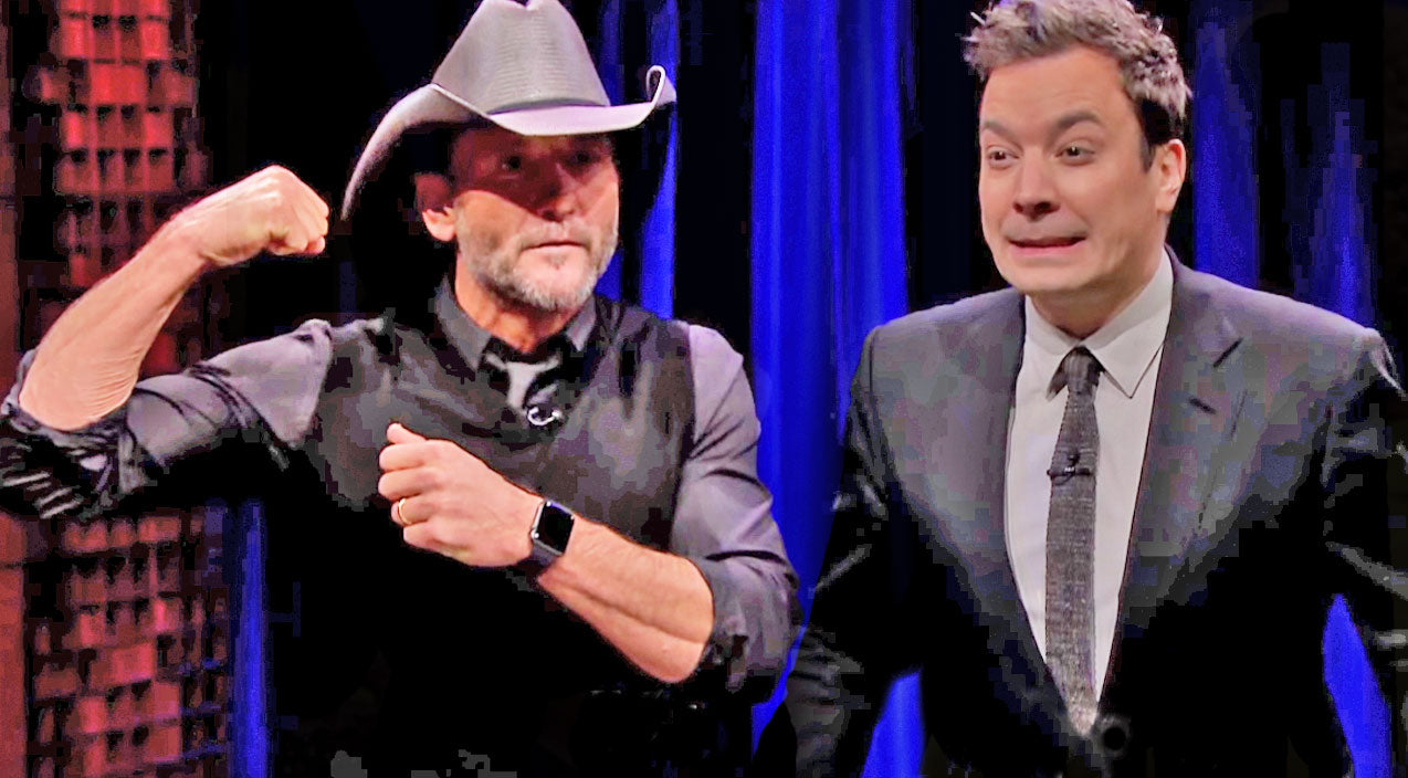 Tim mcgraw Songs | Tim McGraw Gets Handsy In Hilarious Game With Jimmy Fallon | Country Music Videos