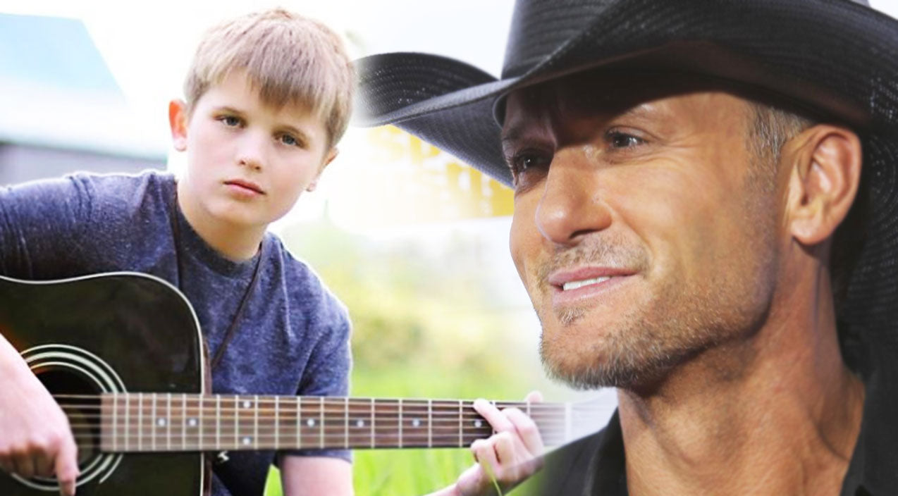 Tim mcgraw Songs | 13 Year Old Boy's Gripping Version of 'Live Like You Were Dying' (VIDEO) | Country Music Videos