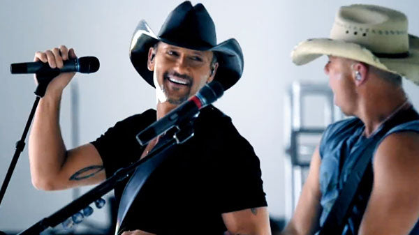 Tim McGraw & Kenny Chesney - Feel Like A Rock Star | Country Music Videos