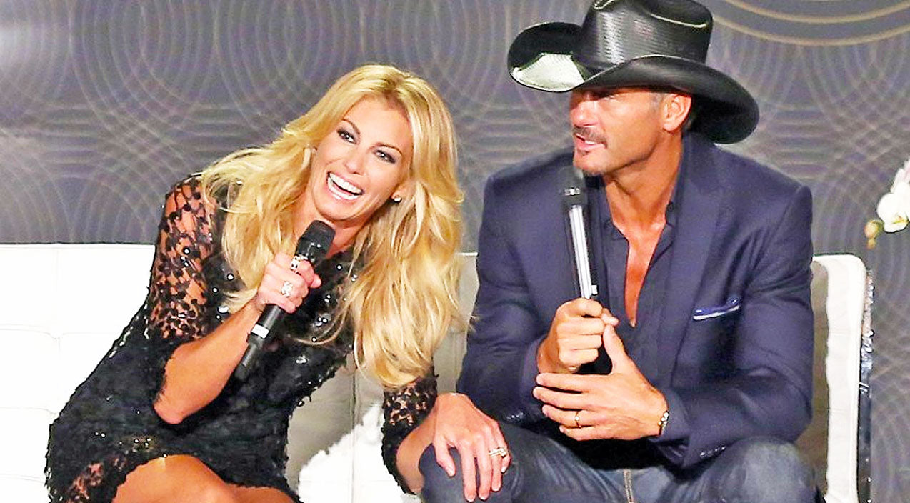 Tim mcgraw Songs | Tim McGraw Lights Up Sharing Romantic Memory With Wife Faith Hill | Country Music Videos