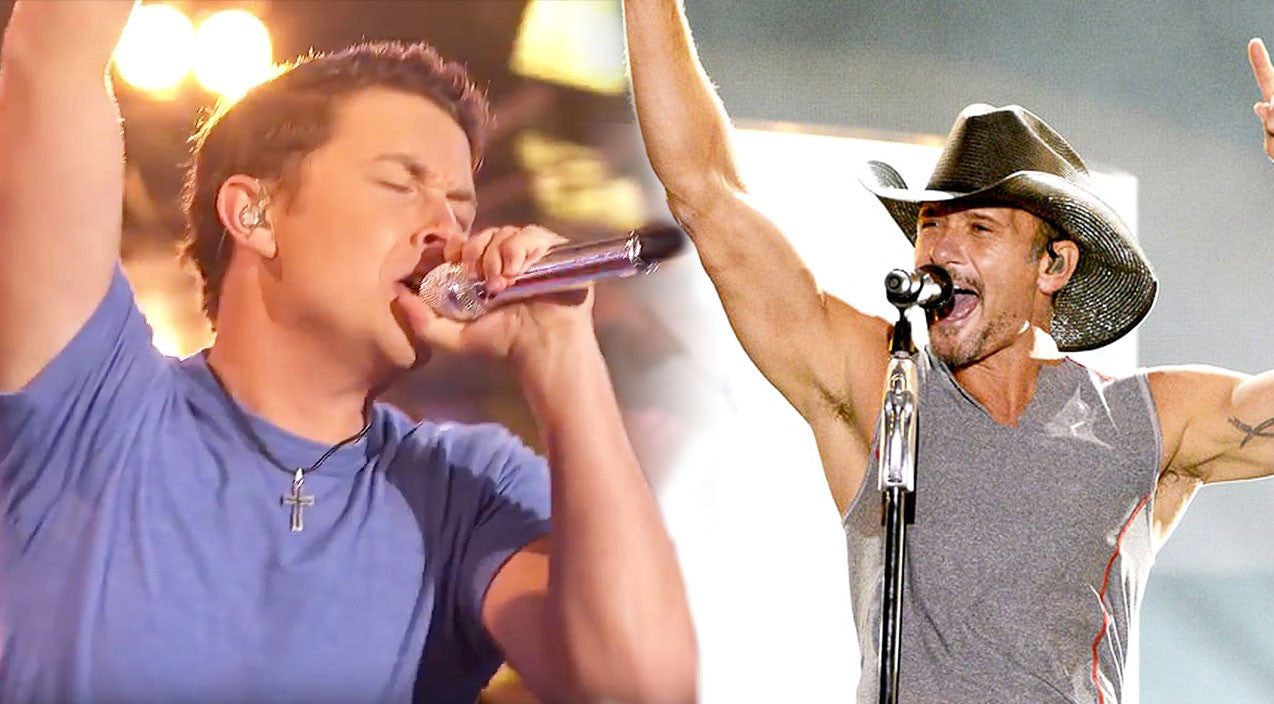 Tim mcgraw Songs | Scotty McCreery Turns Up The Heat With Steamy 'I Like It, I Love It' | Country Music Videos