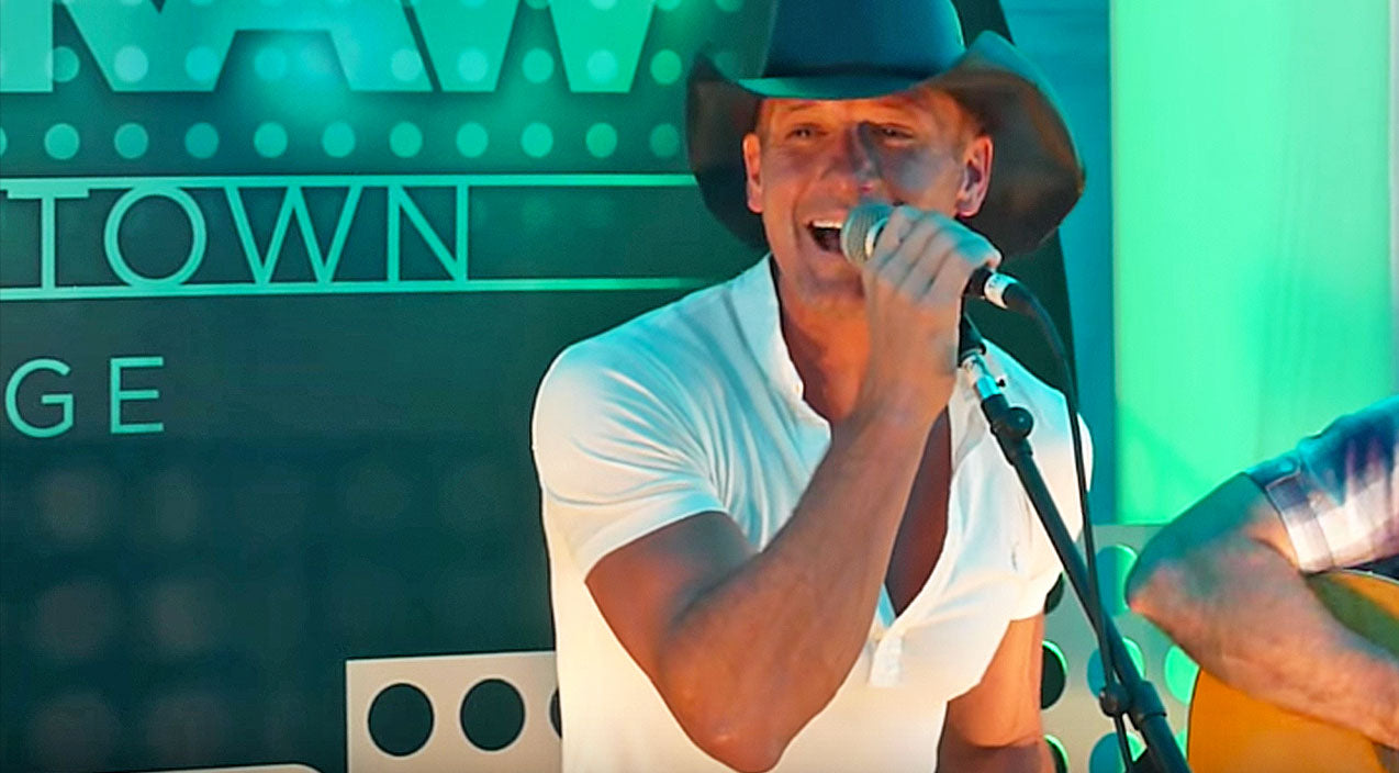 Tim mcgraw Songs | Tim McGraw Turns Up The Heat With George Strait's Steamy Tease 'The Fireman' | Country Music Videos