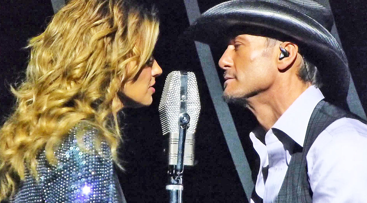 Tim mcgraw Songs | Tim McGraw & Faith Hill Get Hot And Heavy On Stage After Steamy Duet | Country Music Videos
