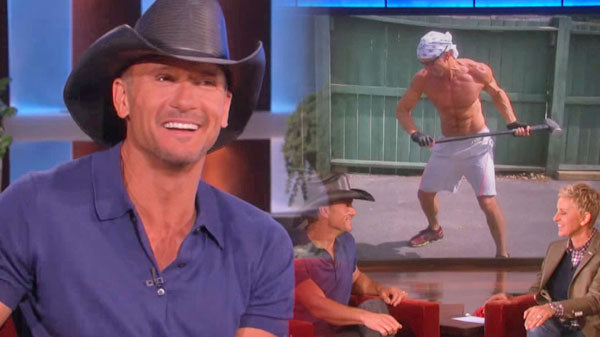 Tim mcgraw Songs | Tim McGraw Discusses His Underwear On The Ellen Show (VIDEO) | Country Music Videos