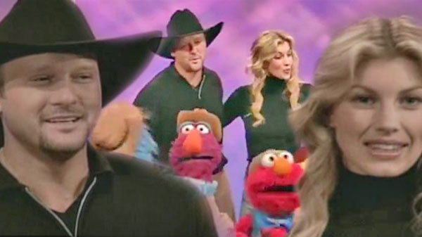 Tim mcgraw Songs | Tim McGraw and Faith Hill on Sesame Street (VIDEO) | Country Music Videos