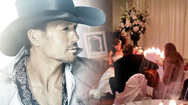 Tim mcgraw Songs | Groom Sings Tim McGraw's