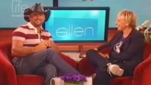 Tim mcgraw Songs | Tim McGraw - Ellen Degeneres Show (2007) | Country Music Videos