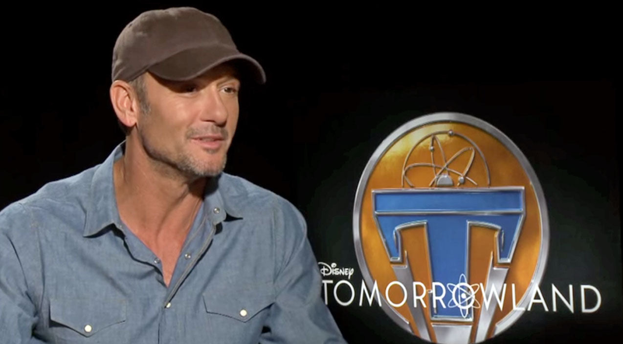 Tim mcgraw Songs | Tim McGraw In Exciting, Sci-Fi Film Tomorrowland | Country Music Videos