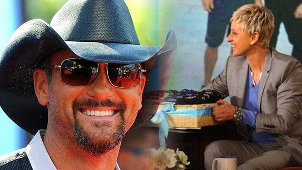Tim mcgraw Songs | Tim McGraw Tries to Scare Ellen (VIDEO) | Country Music Videos